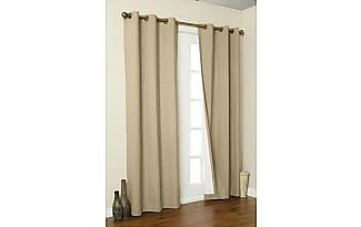 home fashions thermalogic weathermate insulated grommets cotton curtain panels 80 x 63 purple