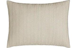 donna karan home moonscape fauxleather pillow 12 x 16