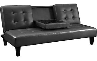 Dorel Home Products Dhp Julia Convertible Futon With Cup Holder Multifunctional Converts Into A