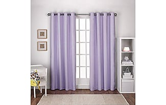 exclusive home curtains exclusiva casa cortinas nios con textura lino trmica ojal en la parte superior - Cortinas Moradas