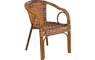 flash furniture cadiz series burning brown rattan restaurant patio chair with dark red