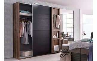 Schwebetürenschrank schwarz braun  Kleiderschränke: 3478 Produkte - Sale: bis zu −50% | Stylight