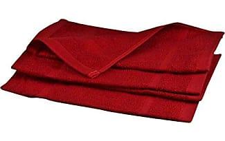serviettes de toilette en rouge 77 produits jusqu 39 27 stylight. Black Bedroom Furniture Sets. Home Design Ideas
