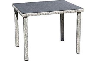 Gartentisch 100 X 80 Great Gartentisch X Cm Holz Grau With