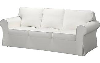 IKEA EKTORP, Bezug 3er Sofa, Vittaryd Weiß, ...