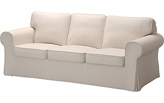 IKEA EKTORP, 3er Sofa, Lofallet Beige, Beige
