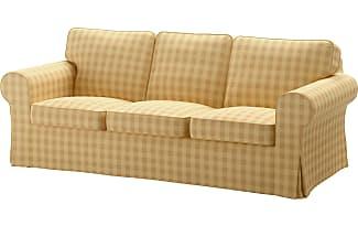 IKEA EKTORP, 3er Sofa, Skaftarp Gelb, Gelb