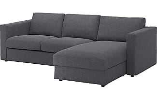 Schlafcouch ikea grau  3er Sofa Grau. Best Kivik Ersofa Und Rcamiere Isunda Grau Ikea ...