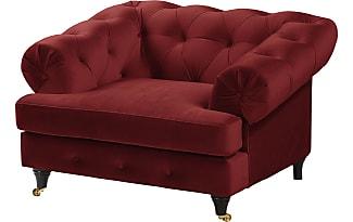 sessel samt rot williamflooring. Black Bedroom Furniture Sets. Home Design Ideas
