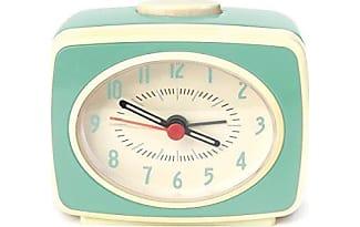 Kikkerland AC14 MN Classic Alarm Clock, Mint