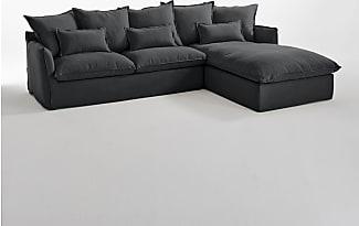 canap s d 39 angle en gris 360 produits jusqu 39 50 stylight. Black Bedroom Furniture Sets. Home Design Ideas