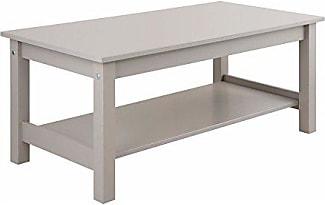 LifeStyleDesign 7011040 Couchtisch Holz Grau 40 X 100 50 Cm