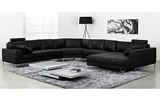 sofas 17496 produkte sale bis zu 64 stylight. Black Bedroom Furniture Sets. Home Design Ideas