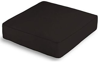 box floor pillows. Loom Decor Black Sunbrella Canvas Box Floor Pillow Pillows