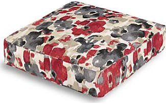 box floor pillows. Loom Decor Gray \u0026 Red Watercolor Box Floor Pillow Pillows