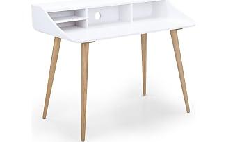 COM Esme Schreibtisch, Esche Und Weiß