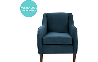 fauteuils en bleu 267 produits jusqu 39 53 stylight. Black Bedroom Furniture Sets. Home Design Ideas