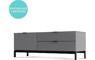Tv Bank Grau. Large Size Of Tv Lowboard Holz Modern Lowboard ...