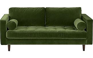 canap s en vert 148 produits jusqu 39 48 stylight. Black Bedroom Furniture Sets. Home Design Ideas