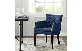 madison park rochelle quilted dining chair navy see below