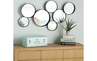 maisons du monde miroirs ronds en mtal noir xcmv douala with miroir maison du monde magasin
