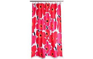 Marimekko Unikko Shower Curtain Red