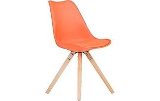 massivum massivum california ha stuhl kunststoff orange 53 x 49 x 83 cm - Esszimmer Orange