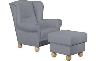 Ohrensessel mit hocker modern  Sessel Mit Hocker in Grau: 11 Produkte - Sale: ab 60,00 € | Stylight