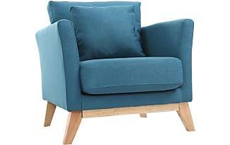 product miliboo fauteuil scandinave bleu canard pieds bois clair oslo 133155300 Résultat Supérieur 50 Inspirant Fauteuil Bleu Paon Pic 2017 Kae2