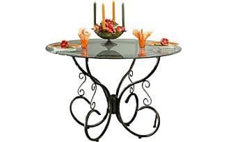 Tavoli da pranzo 546 prodotti di 56 marche stylight - Tavoli da pranzo ferro battuto e vetro ...