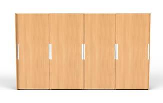 Kleiderschrank schiebetüren buche  Kleiderschränke in Helles Holz − Jetzt: bis zu −43% | Stylight