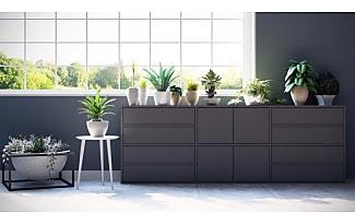 Graues Sideboard sideboards in grau jetzt bis zu 15 stylight