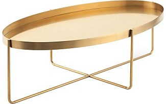 NUEVO Gaultier Oval Coffee Table, Gold