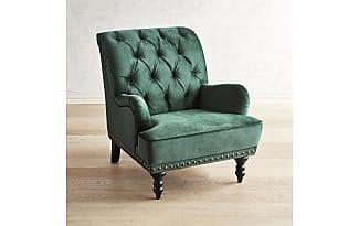 Pier 1 Imports Chas Emerald Velvet Armchair
