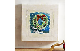 Pier 1 Imports Merry Christmas Wreath Wall Art Part 41