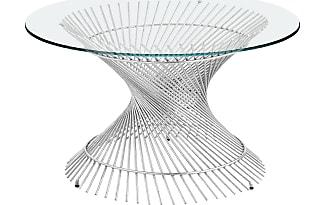 Pier 1 Imports Orella Silver Spiral Coffee Table Base