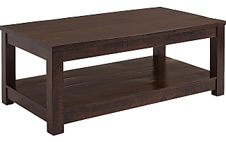 Pier 1 Imports Parsons Tobacco Brown Coffee Table