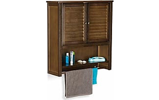 beautiful top relaxdays bambus hngeschrank lamell x x cm hxbxt badschrank  mit with muebles colgantes para bao with muebles colgantes para bao. 2c43cac45c4e
