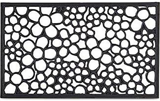 tapis de sol en noir 50 produits jusqu 39 19 stylight. Black Bedroom Furniture Sets. Home Design Ideas