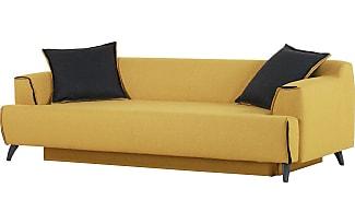 canap s convertibles en jaune 28 produits jusqu 39 27 stylight. Black Bedroom Furniture Sets. Home Design Ideas