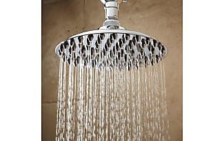 Signature Hardware 12 Bostonian Rainfall Nozzle Shower Head, 15 Extended  Arm, Oil Rubbed Bronze