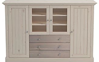 Ss Group Furniture Highboard Holz Grau 46 50 X 187 123 Cm
