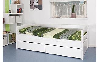 Einzelbett weiß mit schubladen  Funktionsbetten in Weiß − Jetzt: bis zu −50% | Stylight