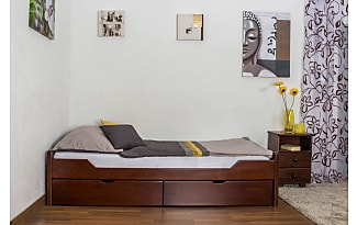 Bett Mit Schubladen 90x200 Buche Elegant Affordable Large Size Of
