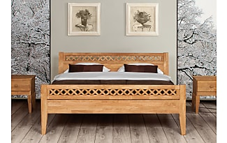 betten in helles holz 247 produkte sale bis zu 43 stylight. Black Bedroom Furniture Sets. Home Design Ideas
