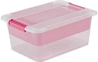Scatole contenitori in trasparente 157 prodotti di 28 for Plastica riciclata prezzo