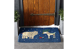 The Company Store Winter Coir Doormats   Winter Forest