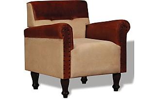 Fauteuil bruin leer vintage fauteuil cognac bruin leer with