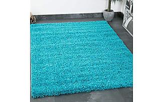 vimoda prime shaggy teppich farbe trkis hochflor langflor teppiche modern fr wohnzimmer schlafzimmer vimoda - Wohnzimmer Teppich Turkis
