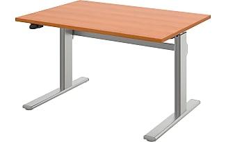 Wellemöbel Schreibtisch UpDown 2 II (höhenverstellbar)   Kirschbaum Dekor    160 X 80 Cm